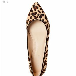 Marc Fisher Leopard Flats- Pony Hair